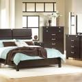 room dark brown