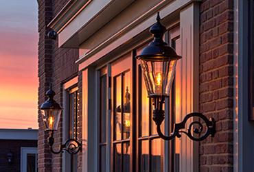 Buitenverlichting voordeur