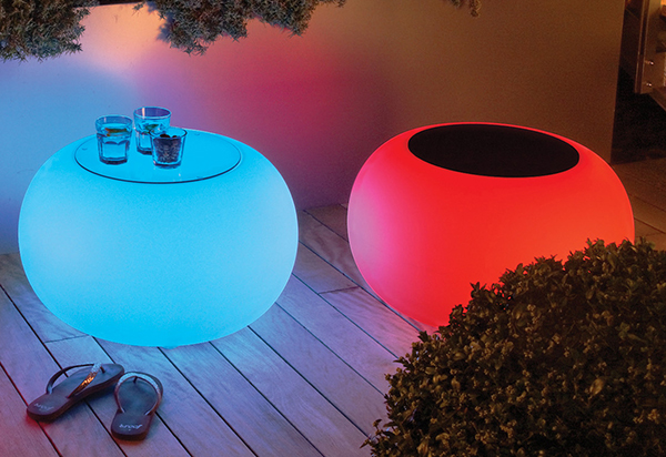 verlichting in meubel