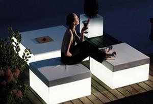 Verlichte meubelen