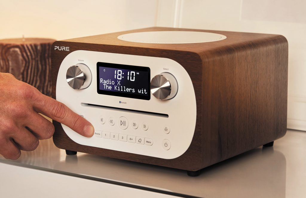 Pure dab plus radio